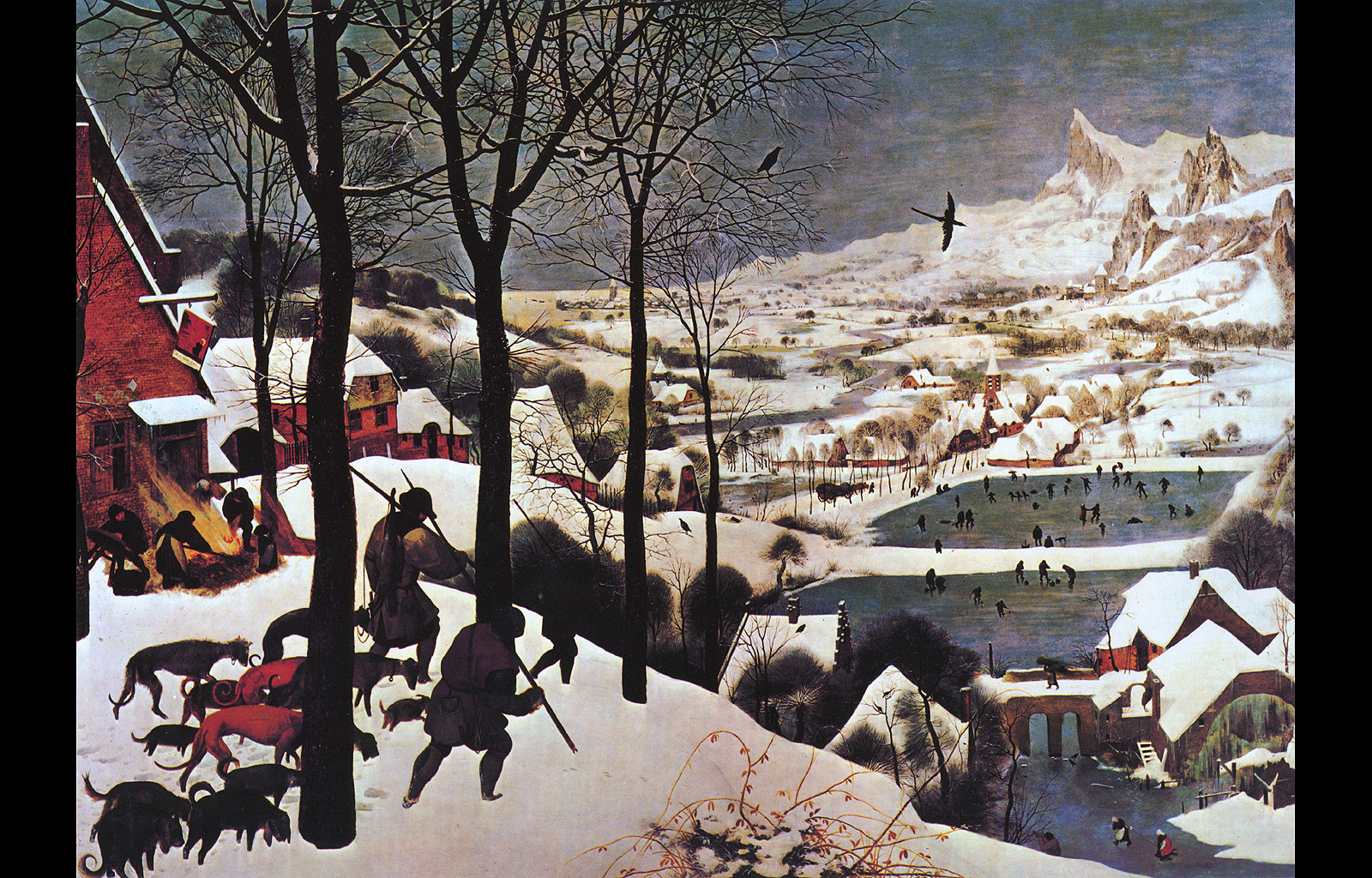 hunters in the snow essay hunters in the snow prints by pieter bruegel the elder allposters co